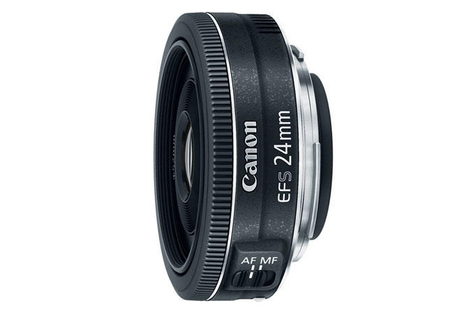 $89.99 Refurbished EF-S 24mm f/2.8 STM Wide Angle lens