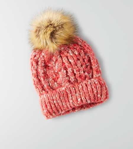 AEO CABLE KNIT BEANIE