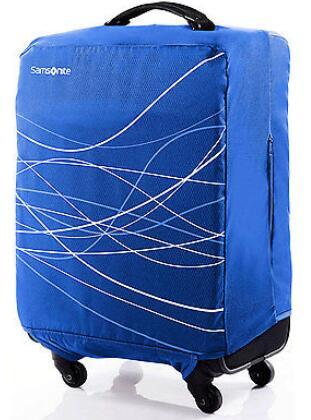 Samsonite Foldable Luggage Cover, Large - Blue