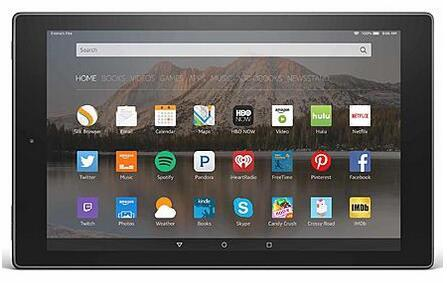 Amazon Fire HD 10 16GB Tablet - Black + $89.99 SYW Points