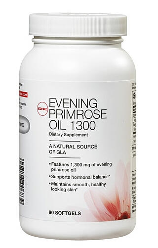 GNC Women's Evening Primrose Oil 1300 90 Softgel Capsules