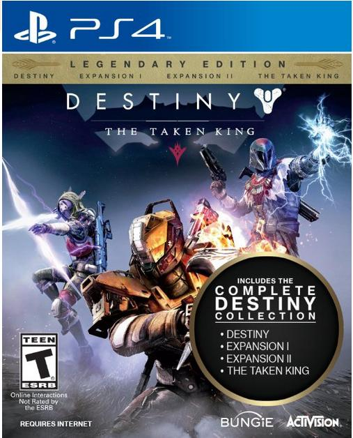 $24.99 Destiny: The Taken King - Legendary Edition - PlayStation 4