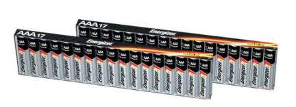 Energizer MAX AAA Batteries,34 Counts