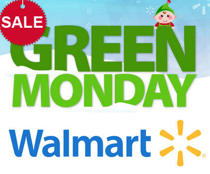Live Now! Walmart Green Monday Sales
