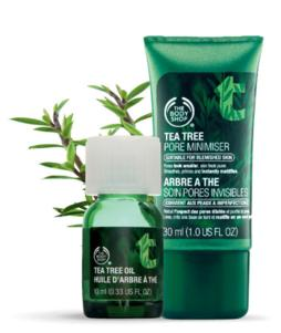 50% Off Tea Tree Series Sale @ The Body Shop
