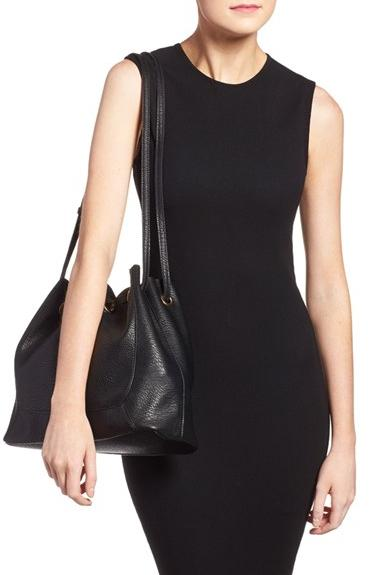 Street Level Faux Leather Shoulder Bag On Sale @ Nordstrom