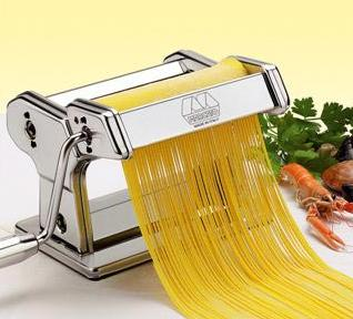 Marcato Atlas Wellness 150 Pasta Maker, Stainless Steel @ Amazon