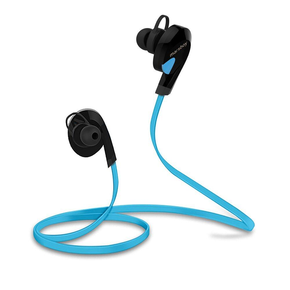 Marsboy Wireless Bluetooth V4.0 Swift Sports Sweatproof Stereo Earphones