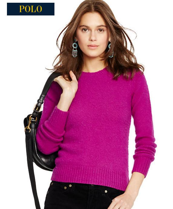 Ralph Lauren Women's Wool-CashMere Sweater