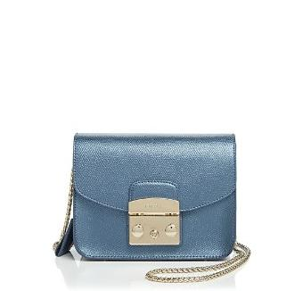 Furla Crossbody - Metropolis Mini Metallic @ Bloomingdales