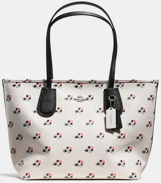 COACH Print Crossgrain New Coach Taxi On Sale @ 6PM.com