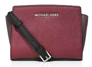 MICHAEL Michael Kors Mini Selma Color Block Messenger Crossbody