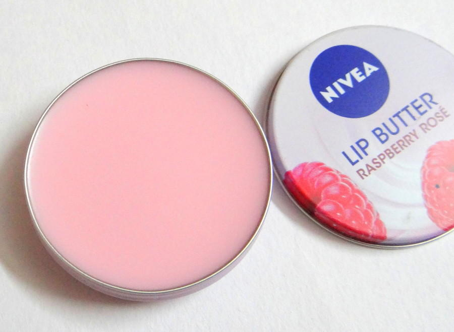 1.77 NIVEA Lip Butter Loose Tin, Raspberry Rose Kiss, 0.59 Ounce
