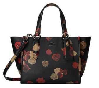 COACH Floral Embossed Txtre Crosby Carryall