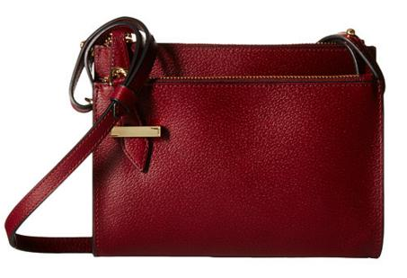 Lodis Accessories Stephanie RFID Under Lock & Key Trisha Double Zip Wallet on a String