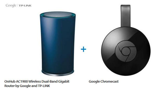 Google Onhub Router and Google Chromecast Value Bundle