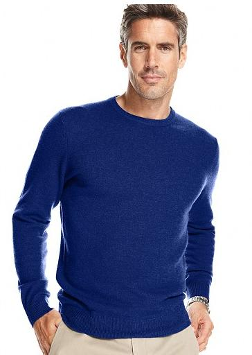 Buy 1 Get 1 50% Off+Extra 20% Off Club Room Cashmere Crew-Neck Sweater