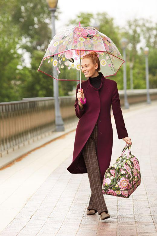 Bubble Umbrella in Pixie Blooms @ Vera Bradley