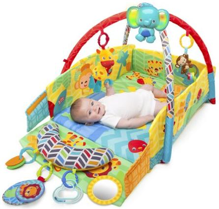 Bright Starts Sunny Safari Baby's Play Place @ Amazon