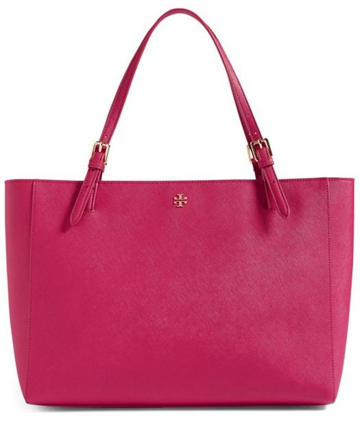 Tory Burch 'York' Colorblock Buckle Tote On Sale @ Nordstrom
