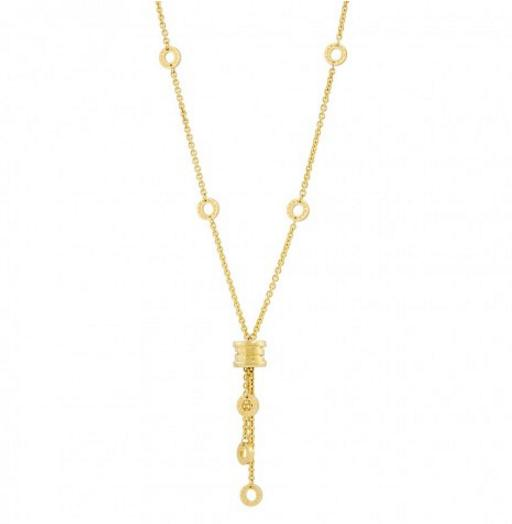 BVLGARI 18kt Yellow Gold Pendant and Necklace