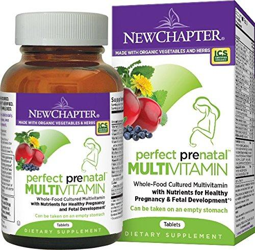$16.41 New Chapter Perfect Prenatal Multi Vitamin - 96 ct