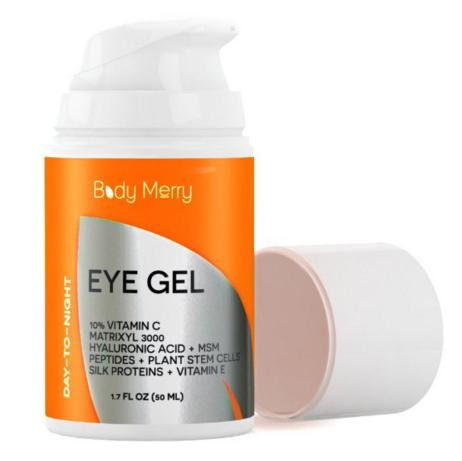 Free! Eye Cream for Dark Circles, Puffiness & Wrinkles - 1.7 OZ - Vitamin C + Matrixyl 3000 + Hyaluronic Acid + MSM + Peptides + Plant Stem Cells - Best Anti-Aging Gel