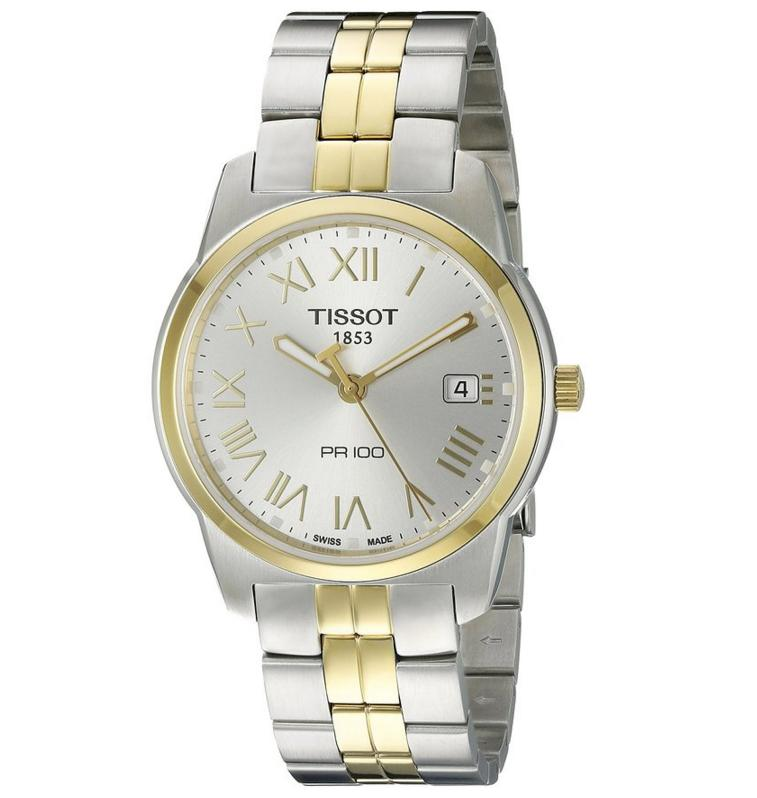 Tissot Men's T049.410.22.033.01 Silver Dial Watch@Amazon.com
