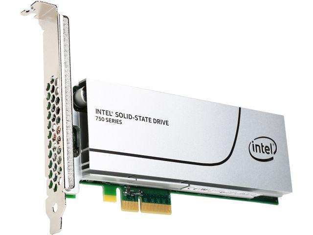 Intel 750 Series AIC 400GB PCI-Express 3.0 x4 MLC Internal Solid State Drive