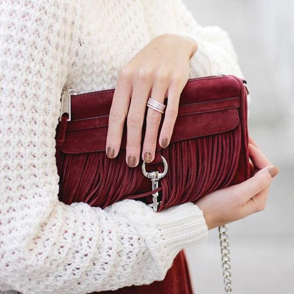 Rebecca Minkoff Fringe Mini Mac Cross-Body Bag