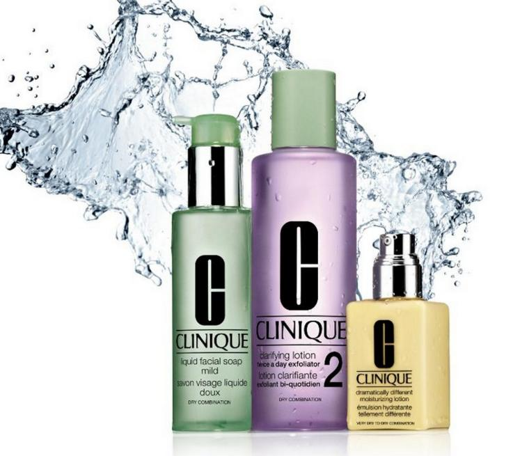 Free Cosmetics Case and Moisture Trio with Any $25 Purchase @ Clinique