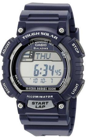 Casio Men's STL-S100H-2A2VCF Tough Solar Stainless Steel Watch