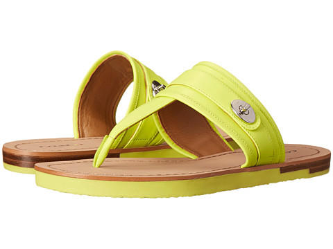 Coach Eileen Leather Sandals