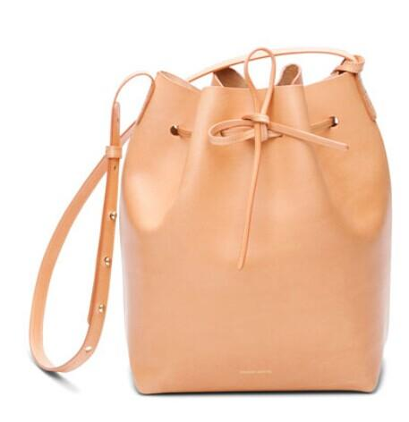 Mansur Gavriel	 Calf Leather Bucket Bag @ Bergdorf Goodman