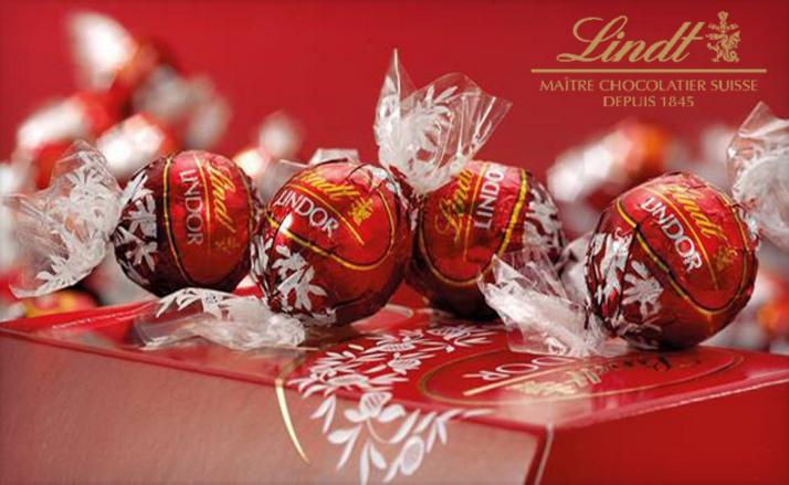 Buy 3 Get 2 Free LINDOR 75-pc Bags @ Lindt