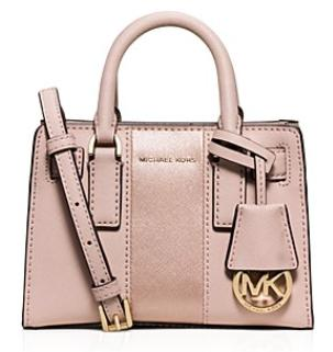 MICHAEL Michael Kors Metallic Stripe Mini Dillon Crossbody