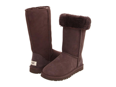 UGG Classic Tall Chocolate @ 6PM.com