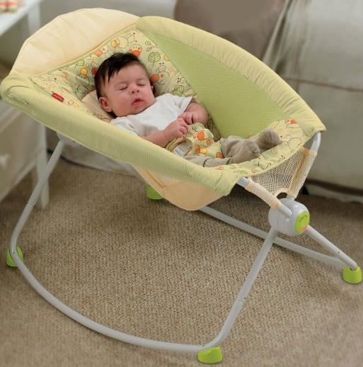 Fisher-Price Newborn Rock 'N Play Sleeper, Neutral @ Amazon