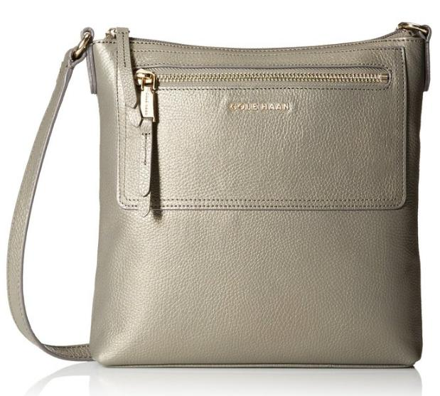 Cole Haan Acadia Leather Cross-Body Bag
