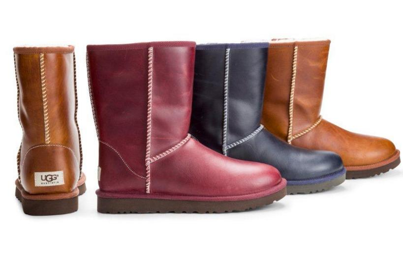 $95.99 UGG Classic Short Leather On Sale @ 6PM.com