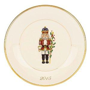 Lenox Holiday 2015 Accent Plate, Toy Soldier
