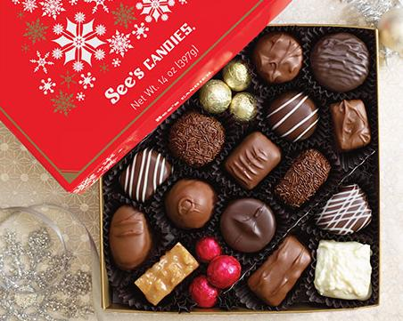 Free 2-Day Expedited Shipping Upgrade @ See's Candies