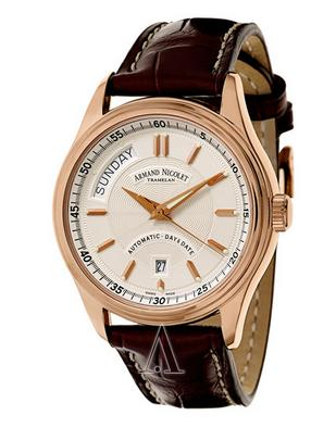 Armand Nicolet Men's M02 Watch 7141A-AG-P914MR2