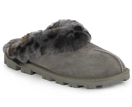 UGG Australia Coquette Sheepskin Slippers On Sale @ Saks Off 5th