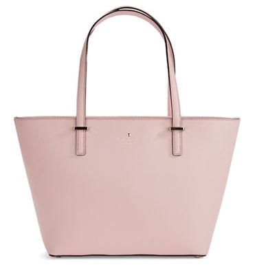 KATE SPADE NEW YORK Mini Harmony Crosshatched Tote Bag