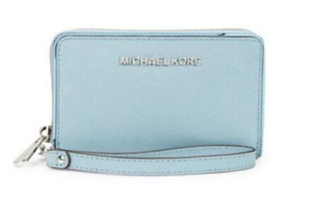 MICHAEL MICHAEL KORS Specchio Leather Wallet @ Lord & Taylor