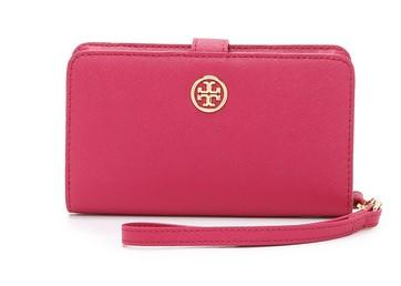 Tory Burch Robinson Smart Phone Bifold Wristlet