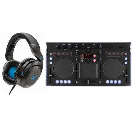 Sennheiser HD7 DJ Closed Pro Headphones for DJ Applictn W/Korg USB DJ Controller