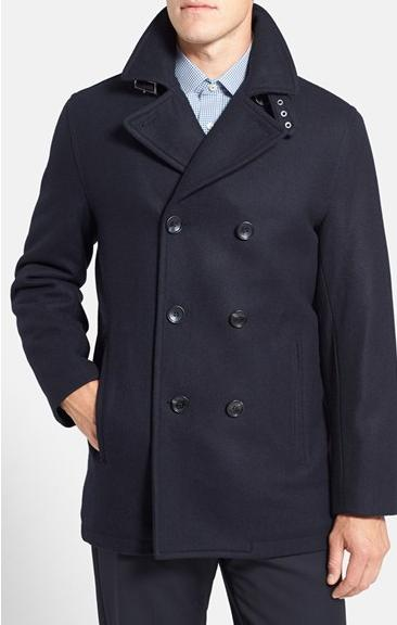 Michael Kors Wool Blend Double Breasted Peacoat(7 colors)
