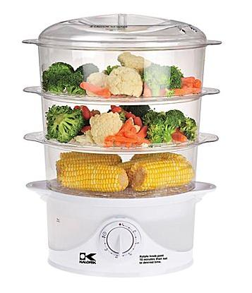 Kalorik 9-Liter 3-Tier Food Steamer
